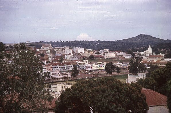 Kampala Uganda  City new picture : The view over the city from Kampala Fort PHOTO John Garside