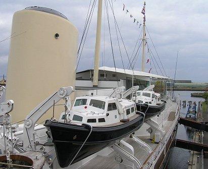 Royal Yacht Britannia Leith Docks