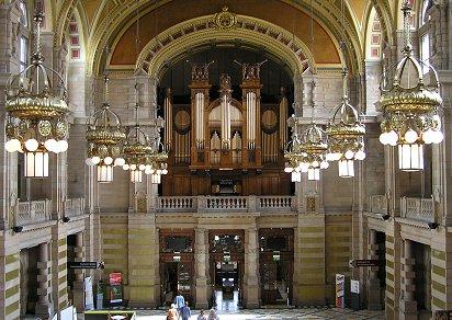 Glasgow Caledonian University Piano Room